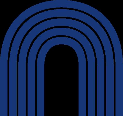 blue striped bandage